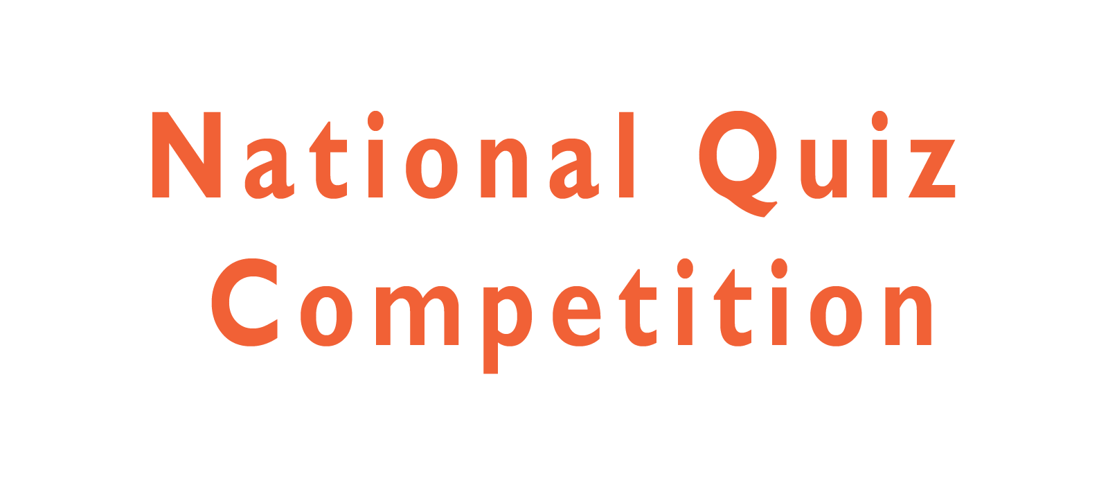 National Quiz Competition